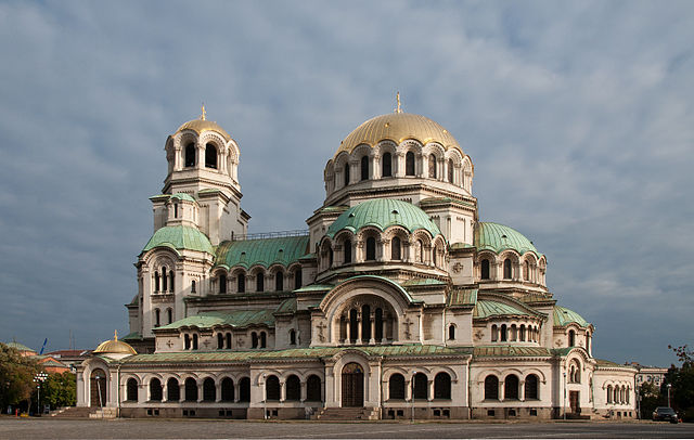 """""""AlexanderNevskyCathedral-Sofia-6"""" by Plamen Agov (user:MrPanyGoff) - Own work. Licensed under GFDL via Commons."""