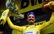 Julian Alaphilippe, succes solitar la Epernay