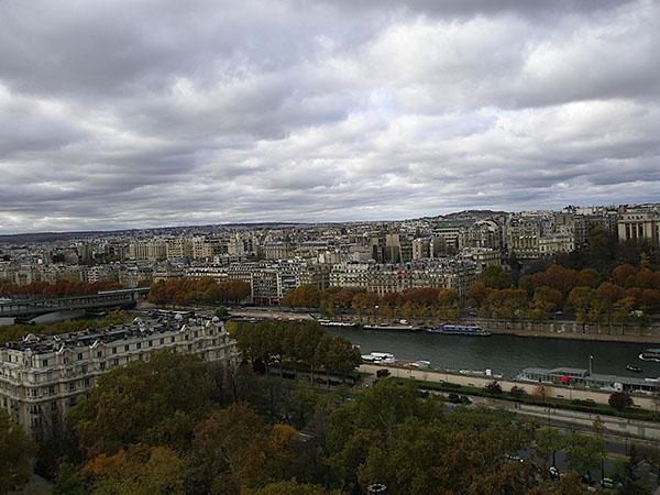 Paris, de-a lungul fluviului Sena