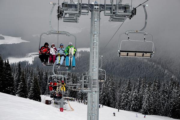 Noi pârtii de schi la Voineasa