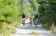 Ciclism printre cireşi, la Păuleşti