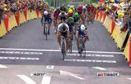 Turul Franţei - etapa 2: Peter Sagan victorie şi tricou galben