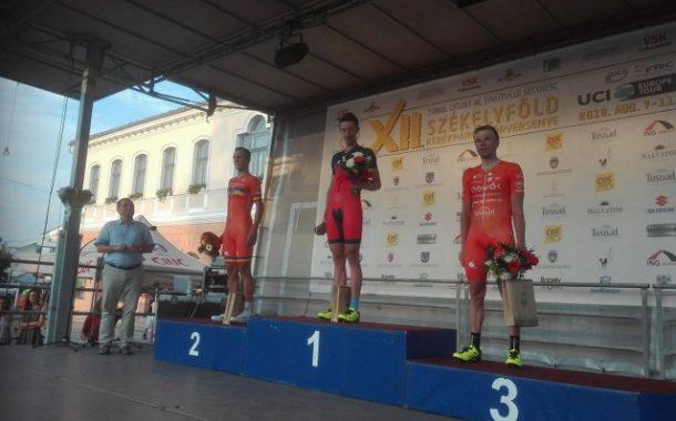 Daniel Crista câştigă prologul Turului Secuiesc 2018