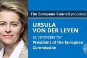 Ursula von der Leyen, propusă ca preşedinte al Comisiei Europene